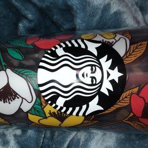 Starbucks Other - STARBUCKS TUMBLR FLORAL